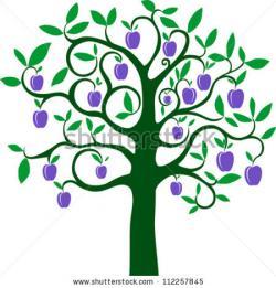 Plum clipart plum tree