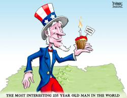 Uncle Sam clipart caricature