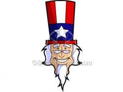 Uncle Sam clipart cartoon