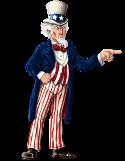 Uncle Sam clipart finger
