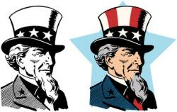 Uncle Sam clipart net income