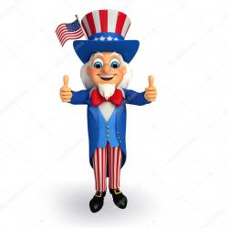 Uncle Sam clipart thumbs up