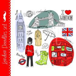 Tower Bridge clipart british guard