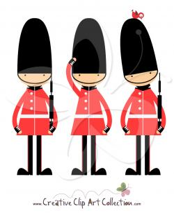 Royal Guards clipart queen's guard