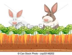 Underground clipart carrot garden