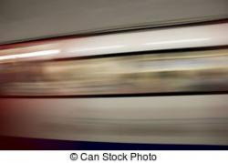 Underground clipart fast train
