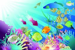 Coral Reef clipart ocean animal underwate