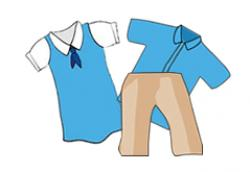 Dress clipart school uniform