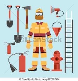 Uniform clipart firefighter uniform