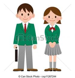 Uniform clipart grade school
