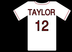 Baseball clipart t shirt