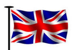 Union Jack clipart animated