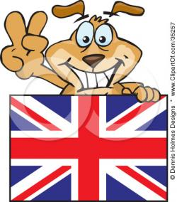 Union Jack clipart british person