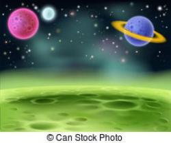 Universe clipart background