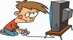 Video Game clipart video gamer