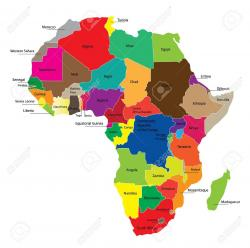 Africa clipart african continent