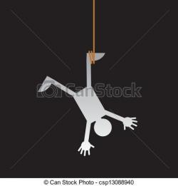 Upside Down clipart hang