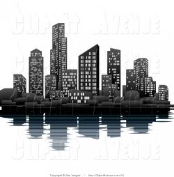 Canal clipart urban city