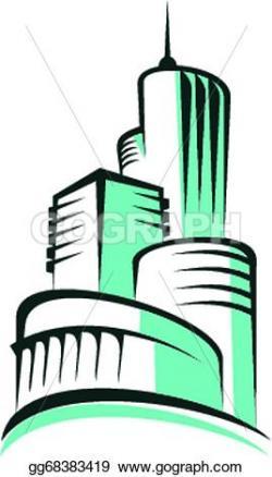 Urban clipart modern architecture