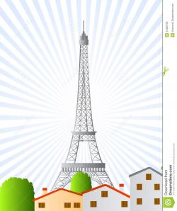 Eiffel Tower clipart world tour