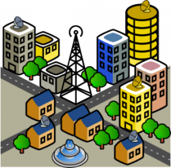Urban clipart rural area