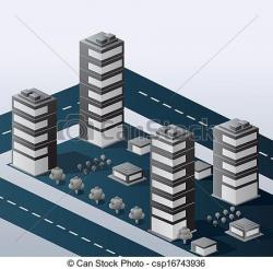 Urban clipart urban area