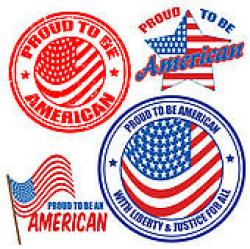 USA clipart naturalization