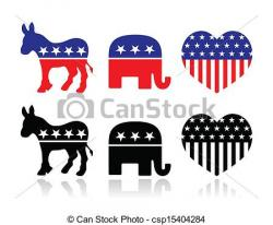 USA clipart political