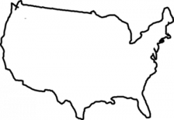 United States clipart simple