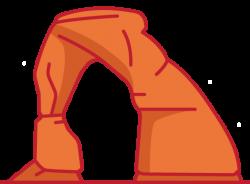 Utah clipart Utah Arches Clipart