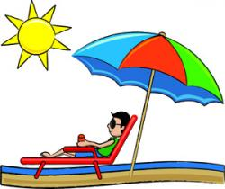 Relax clipart beach vacation