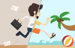 Relax clipart vacation leave