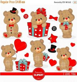 Teddy clipart swimming