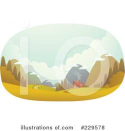 Valley clipart land