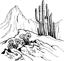 Peak clipart mountain scenery
