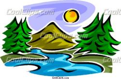 Sream clipart mountain stream