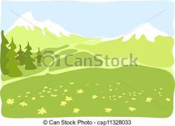 Valley clipart surroundings