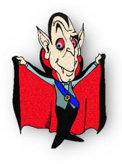 Fangs clipart vampire cape