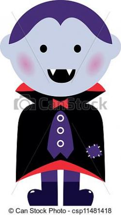 Dracula clipart cute