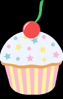 Pastry clipart vanilla cupcake