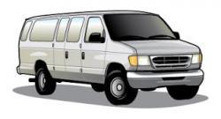 Vans clipart passenger van