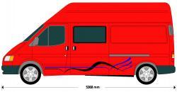 Vans clipart transit van