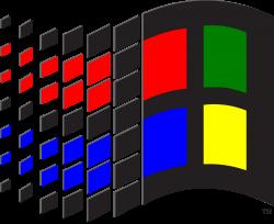 Vaporwave clipart windows 95