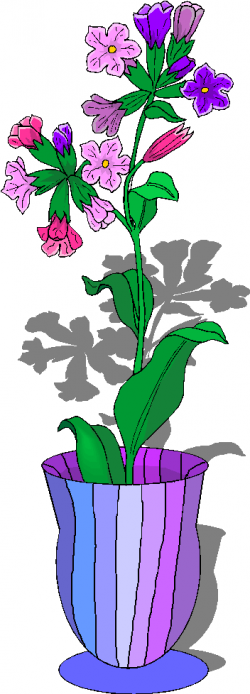 Vase clipart flower basket