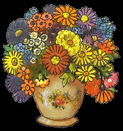 Marigold clipart bouquet
