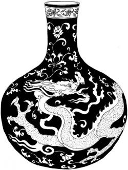 Oriental clipart dover