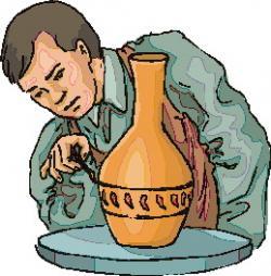 Ceramic clipart potter