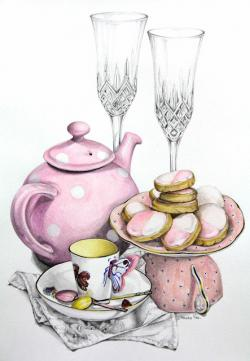 Tea Party clipart cream tea