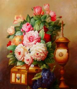 Vase-painting clipart artist painting