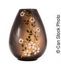 Vase-painting clipart clay